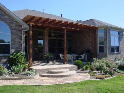 A Custom Covered Porch Features Numerous Benefits. Cedar Pergola