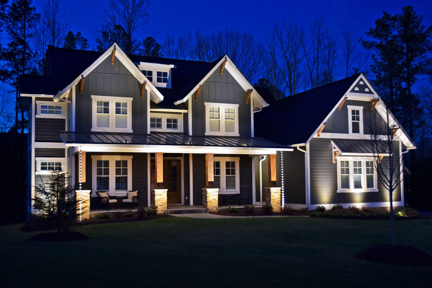 Blog outdoor lighting perspectives for Exterior features of a house