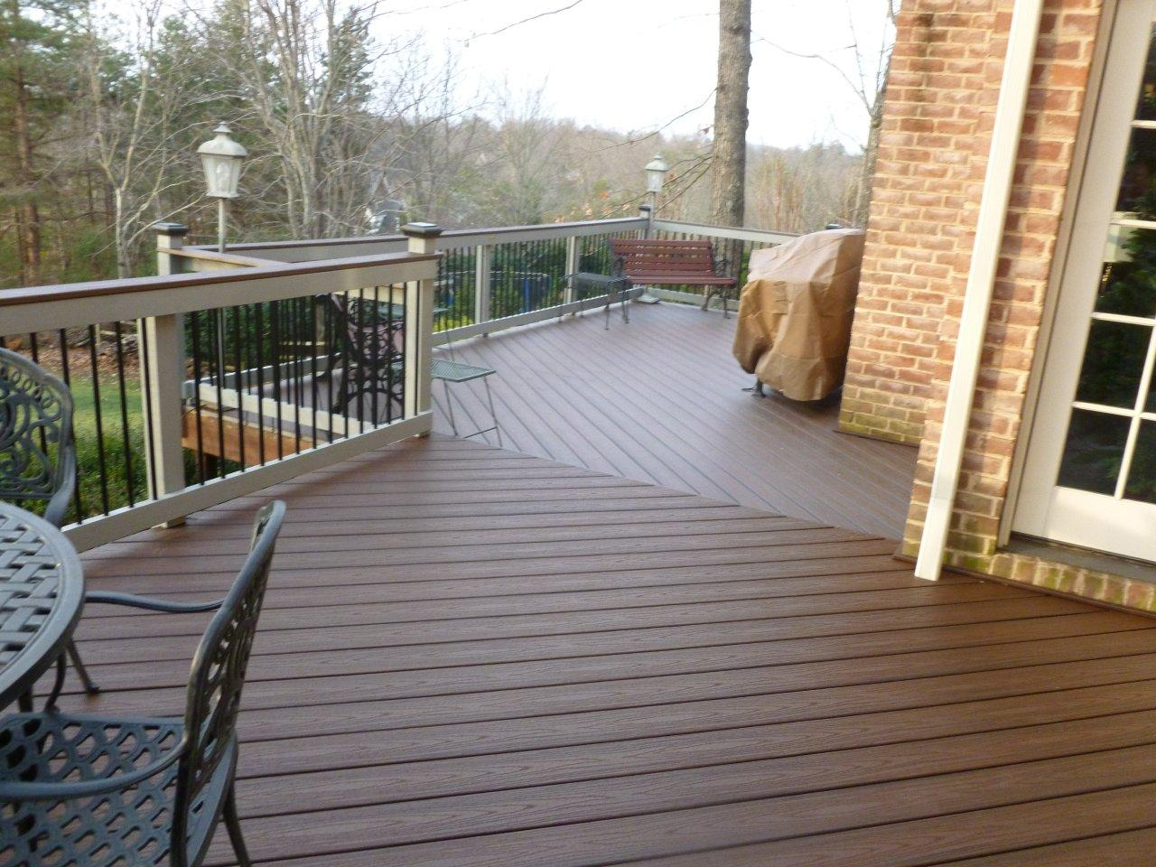 How much should a trex deck cost archadeck outdoor living for Who makes tropics decking