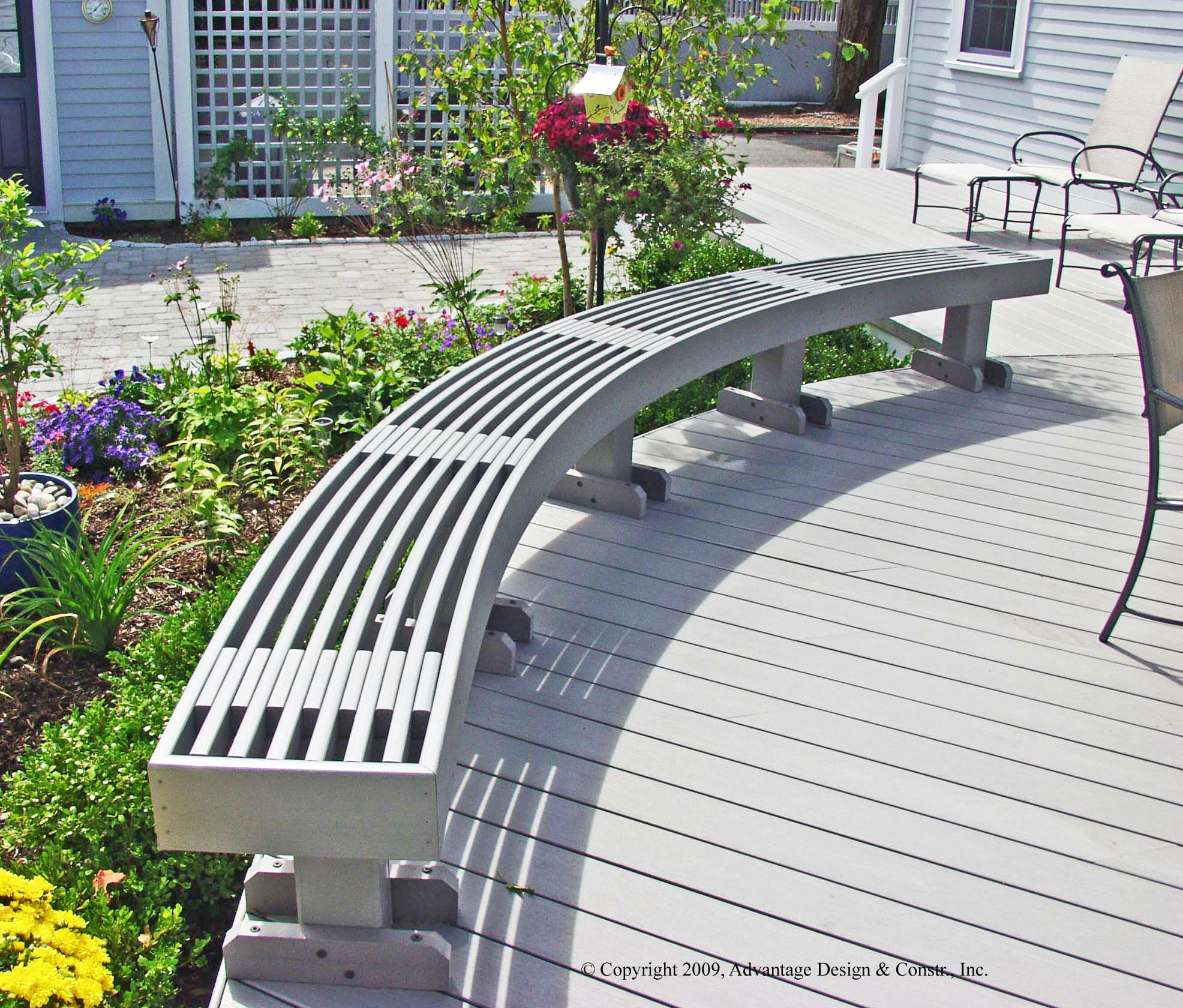Decks archadeck outdoor living for Outdoor decking boards