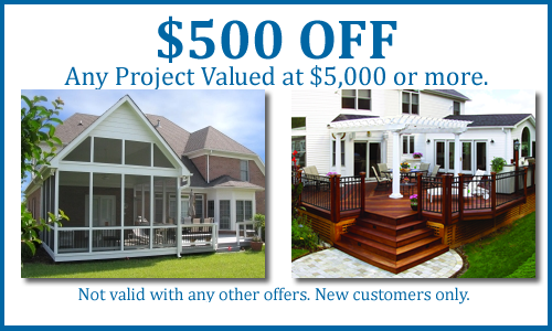 Special deck and patio offers from archadeck of central for Decking special offers
