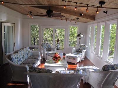 Olathe ks porches sunrooms and decks - Sunroom off kitchen design ideas ...