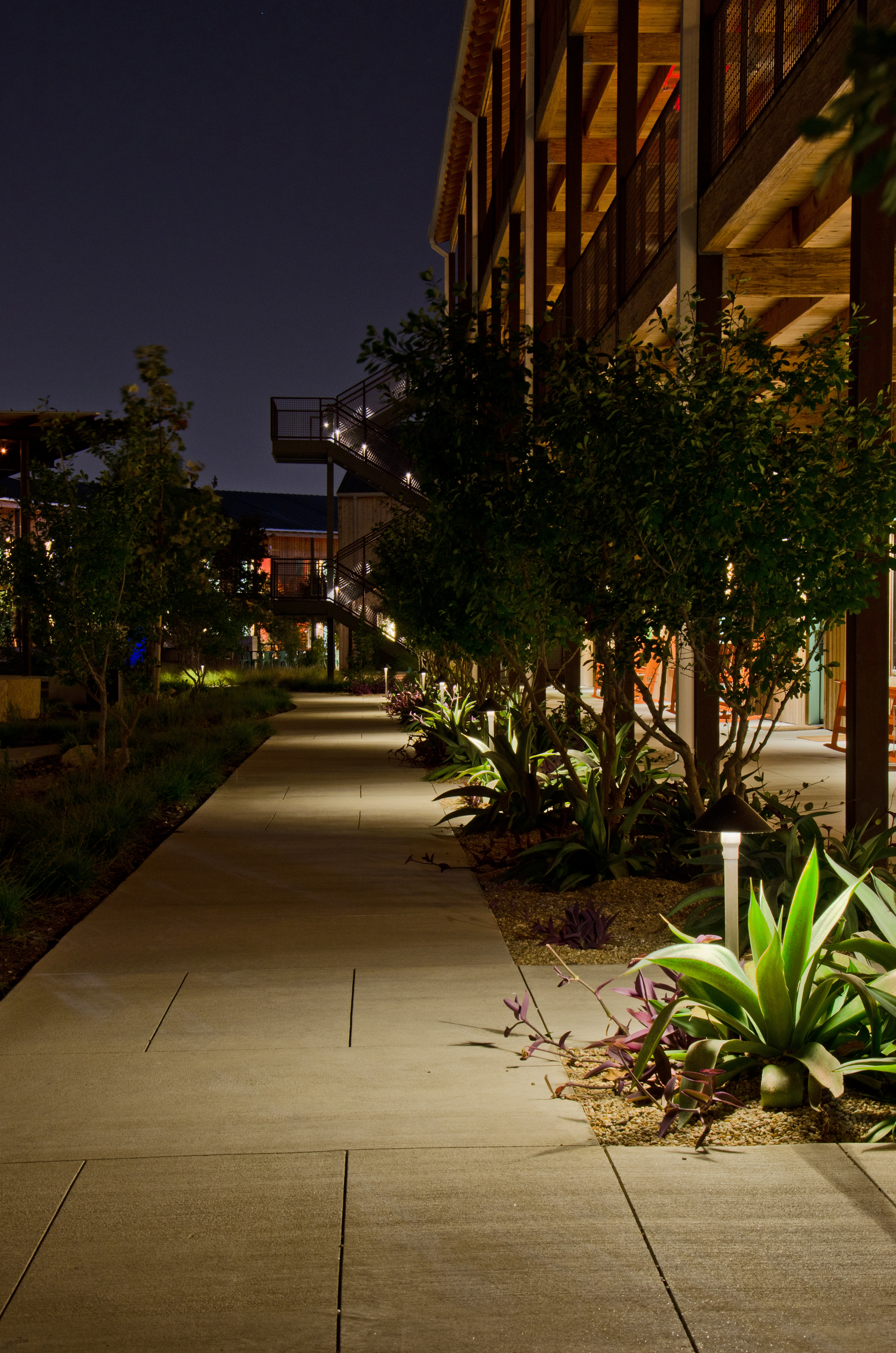 landscape and outdoor lighting in austin