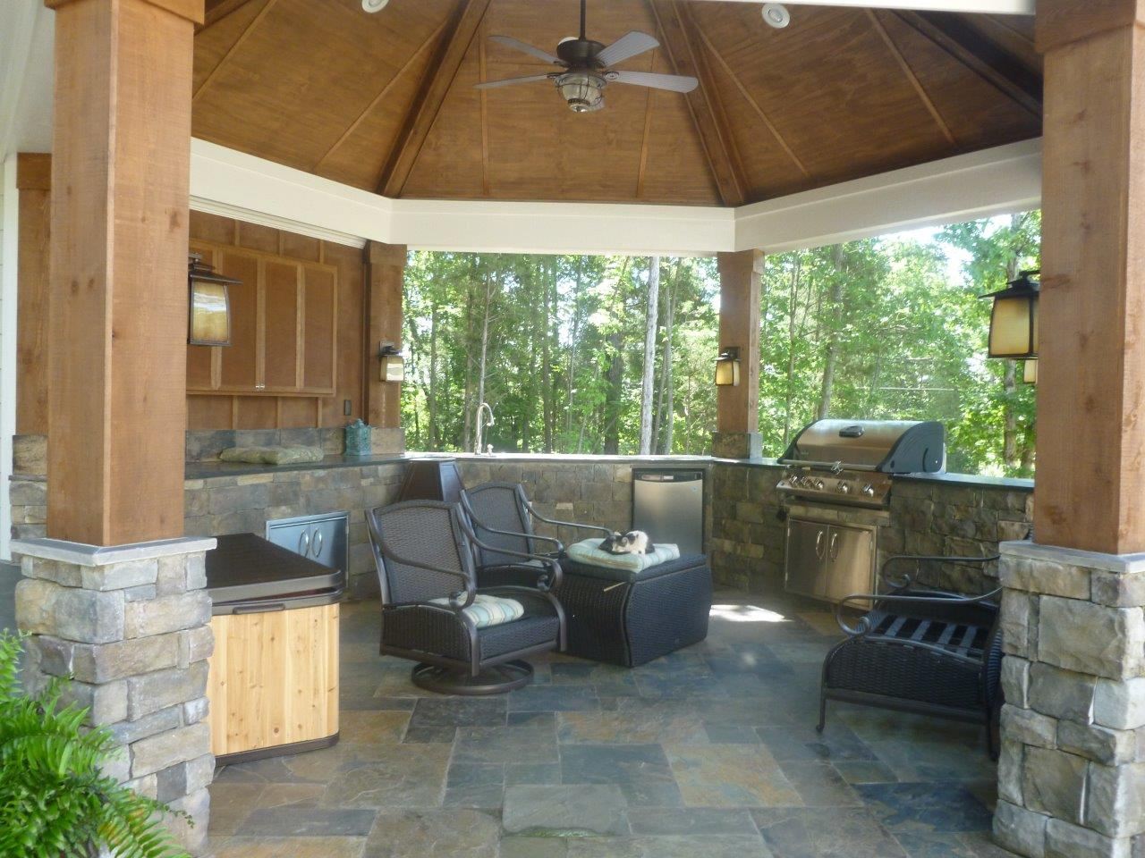 Blog archadeck outdoor living for Outdoor kitchen under deck