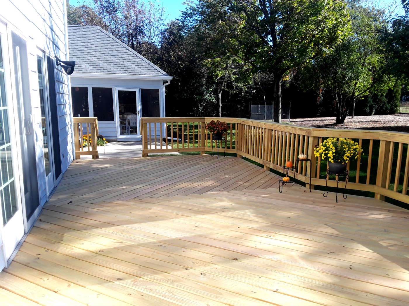 Wood Deck Design by Joliet, IL Wood Deck Designer Thumbnail
