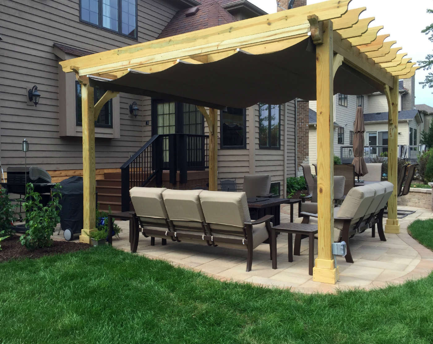 High Quality Belgard Patio And Pergola In Naperville IL