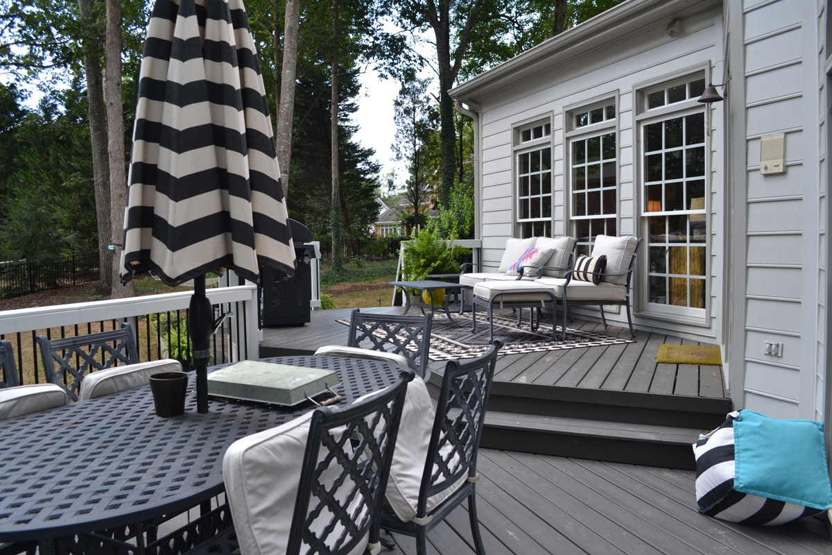utility and style shine in a north raleigh patio addition and re