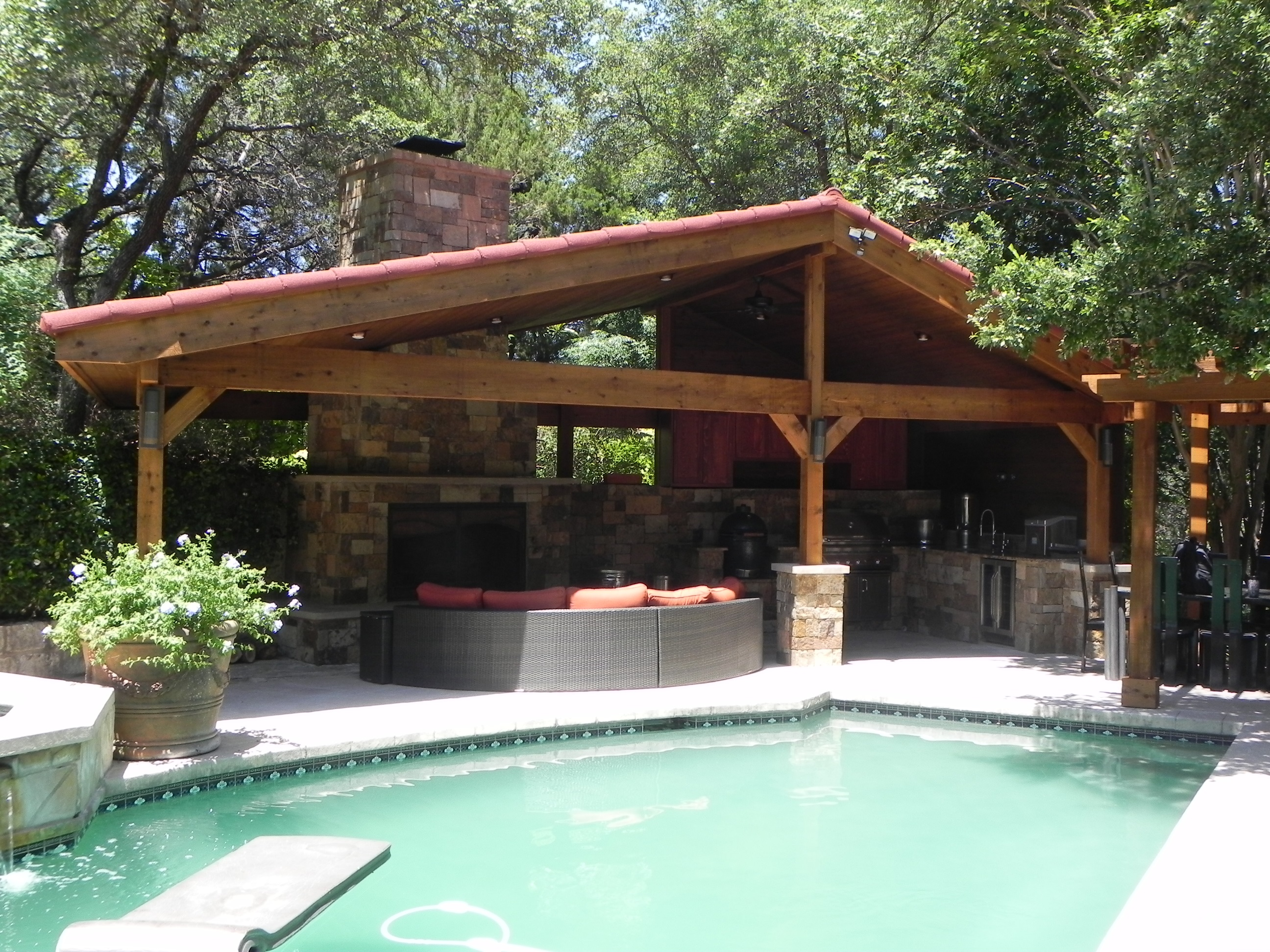 Austin Outdoor Kitchens Austin Porch Builder