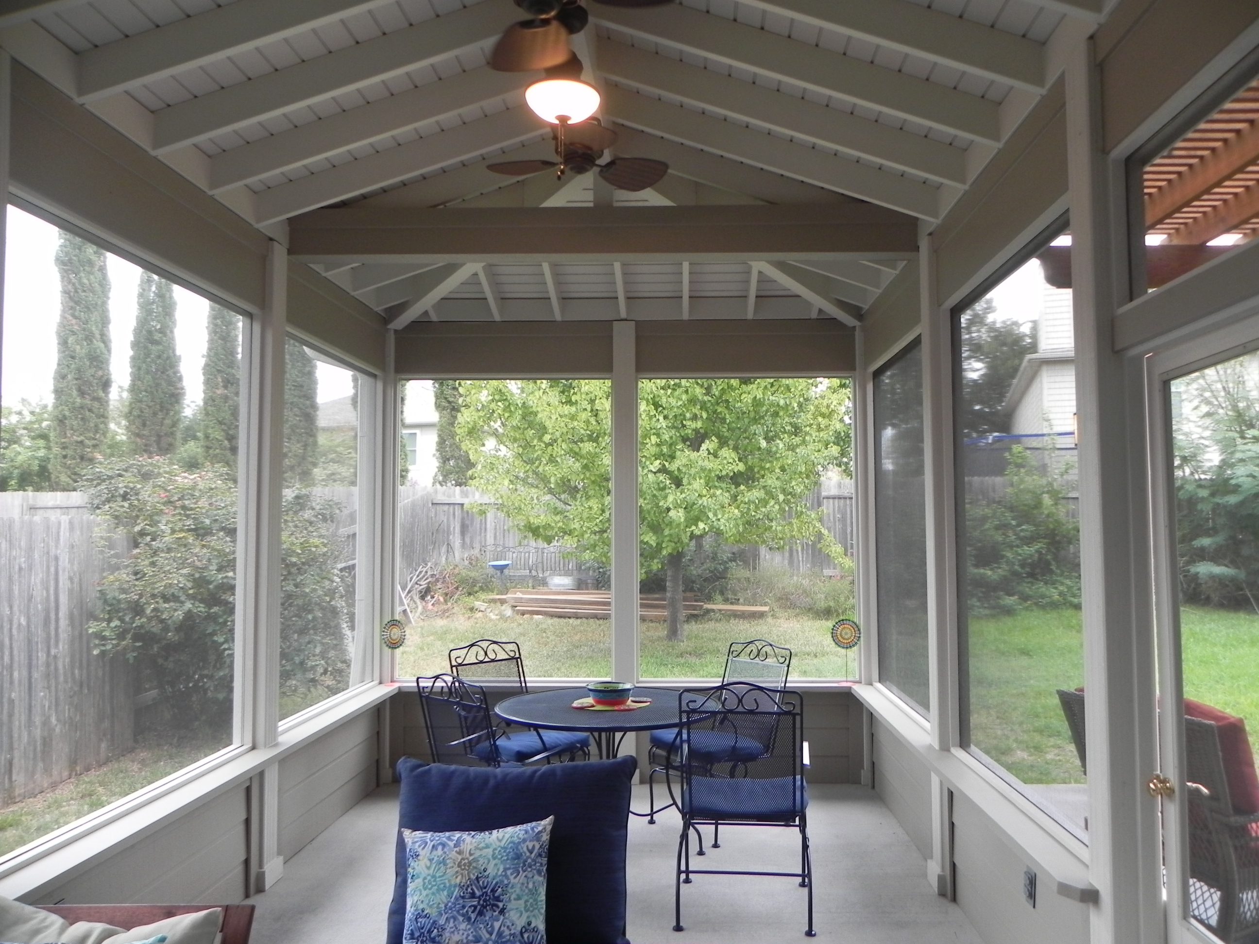 Austin porch builder for Detached screened porch