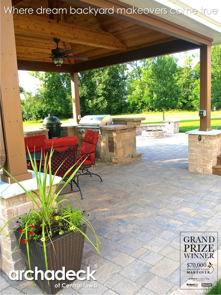 Dream Backyard Makeover Project Archadeck Outdoor Living