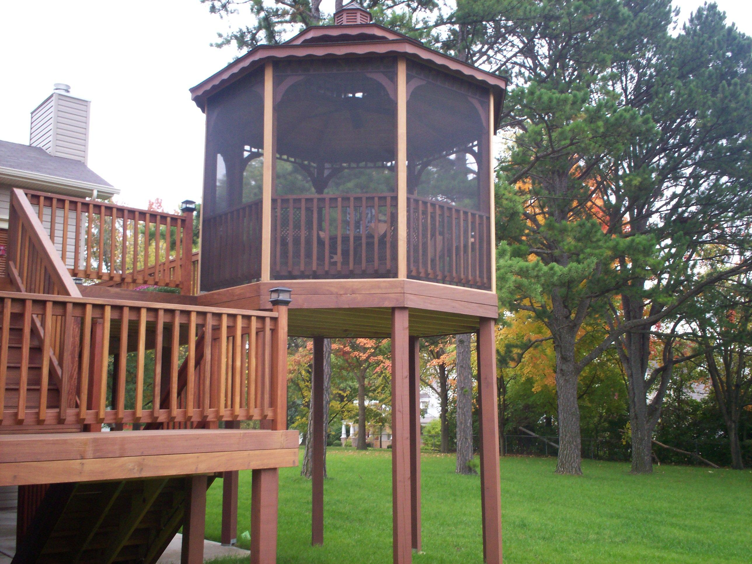 Deck builder in chesterfield for A perfect image salon chesterfield mo
