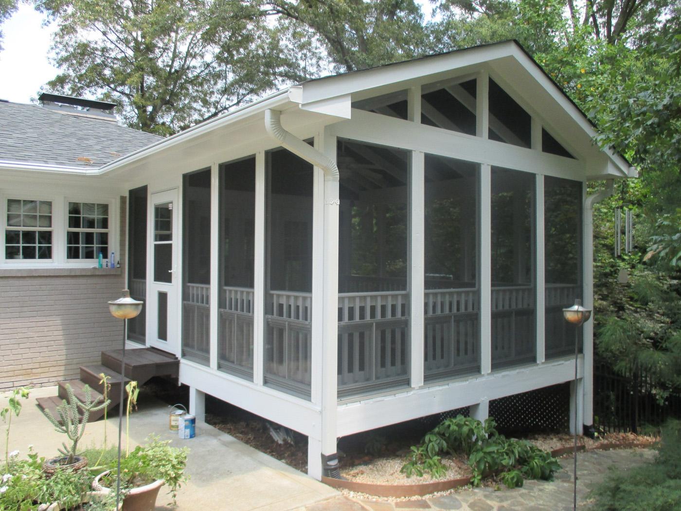 Raleigh Porch Designer - 3 season porch plans