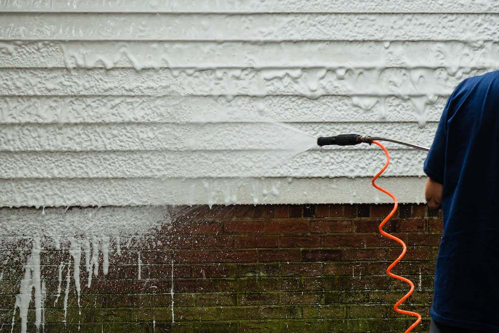 Siding Cleaning