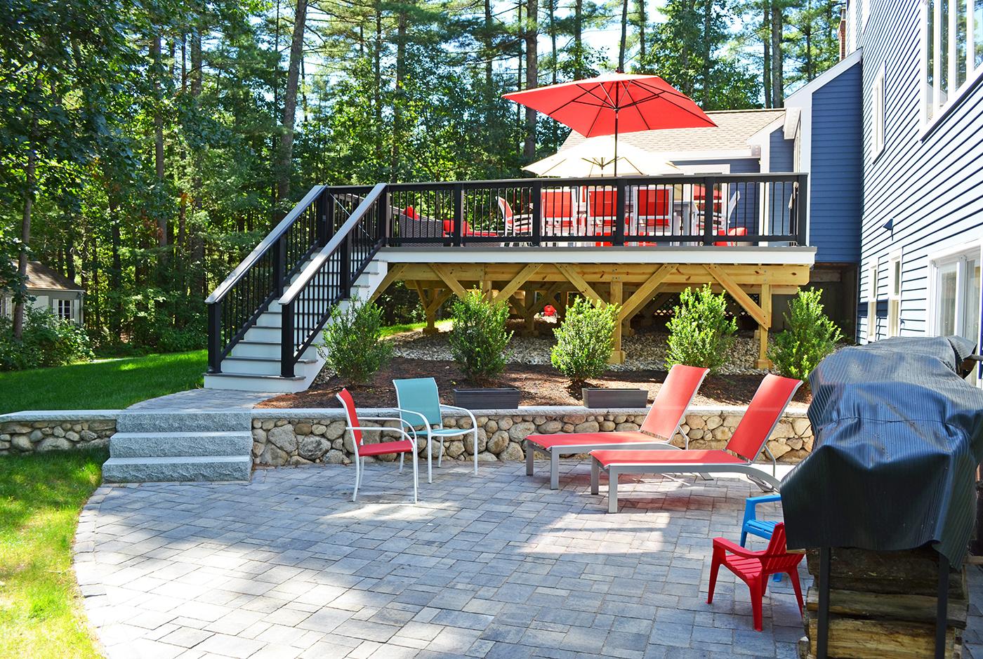oakville on deck builder creates stunning dream backyards with
