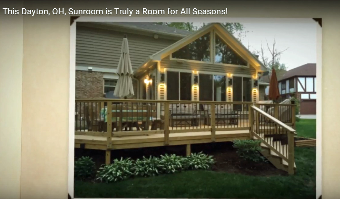 This Dayton, OH, Sunroom is Truly a Room for All Seasons Thumbnail