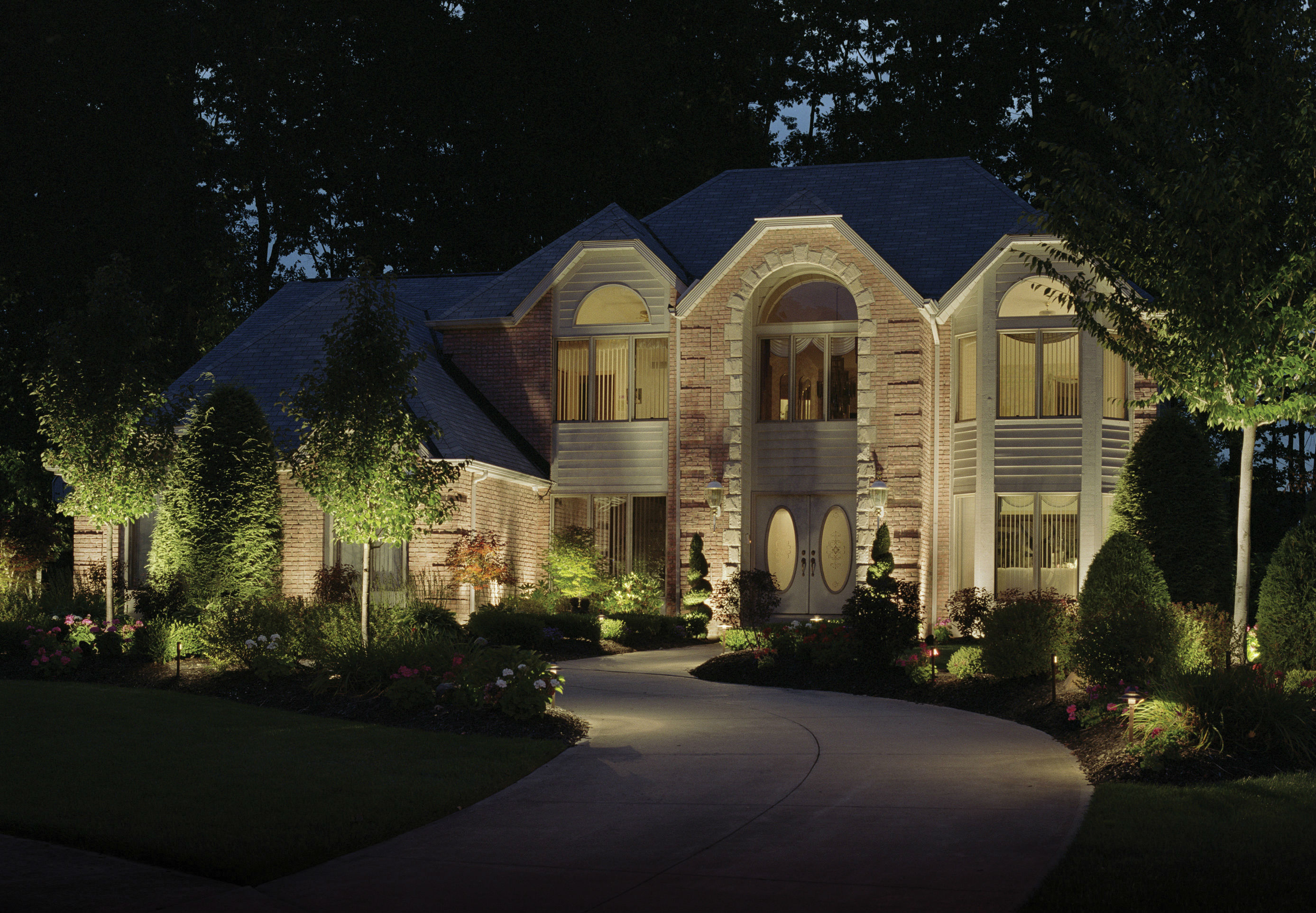 Outdoor lighting - Beauty Safety And Security What Wilmington De Landscape Lighting Needs