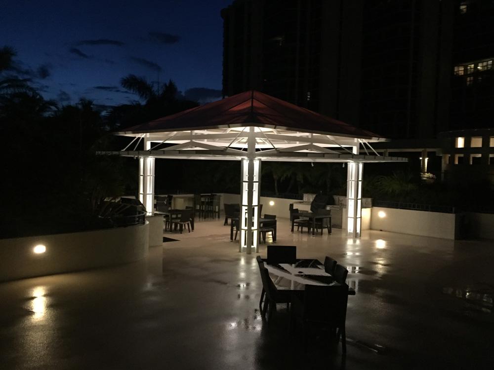 Pool Deck Lighting for an Evening Swim u0026 Nighttime Entertaining & Naples Patio Lighting azcodes.com
