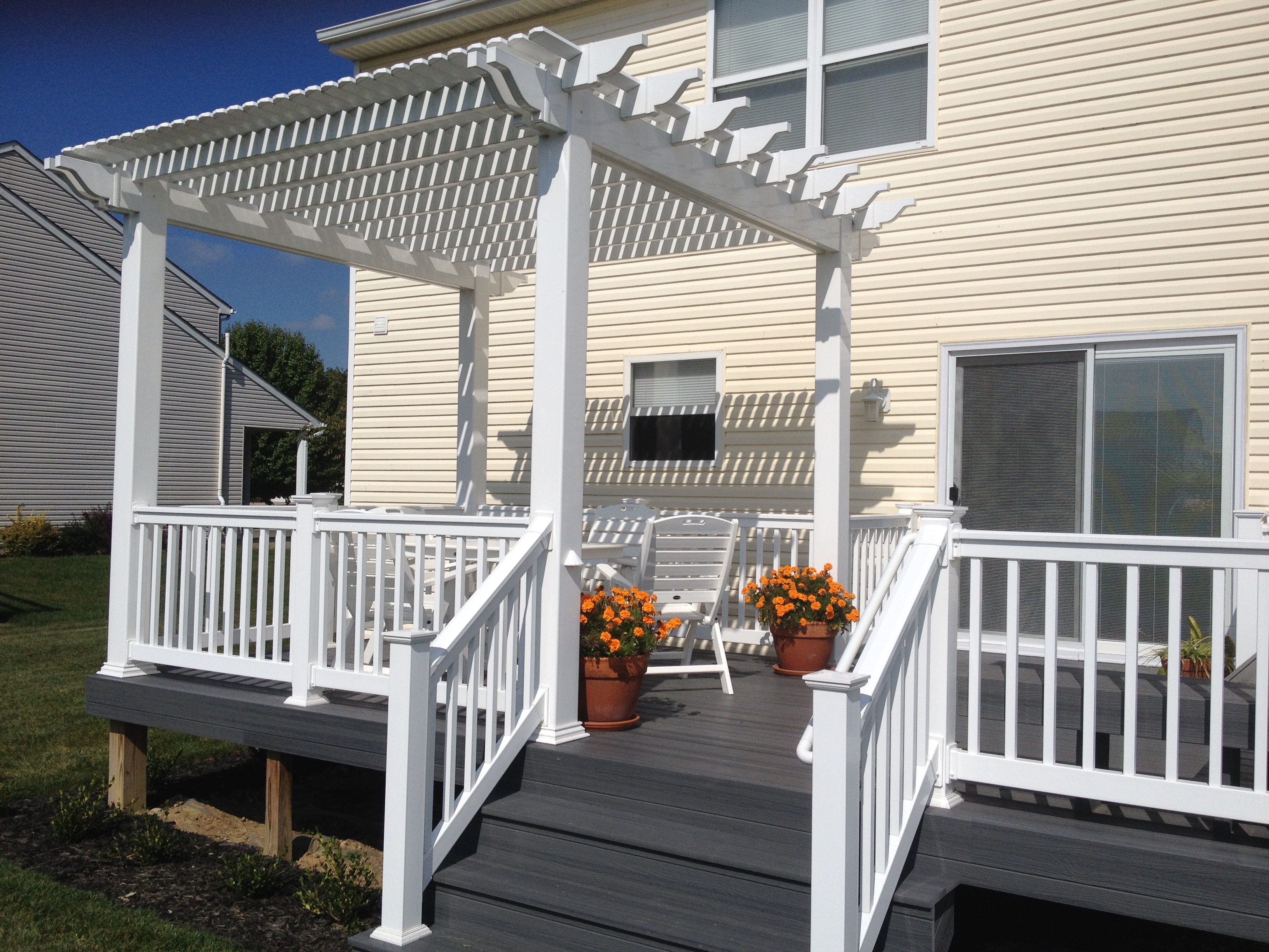 100 dayton oh wooden deck cleaning composite decking for Compare composite decking brands