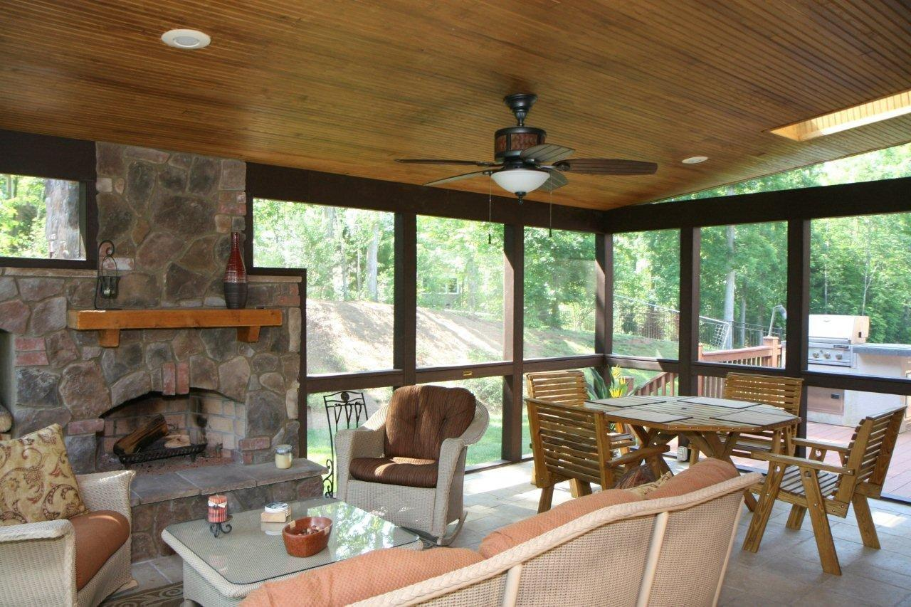 raleigh-durham porch builder - Screened In Patio Designs