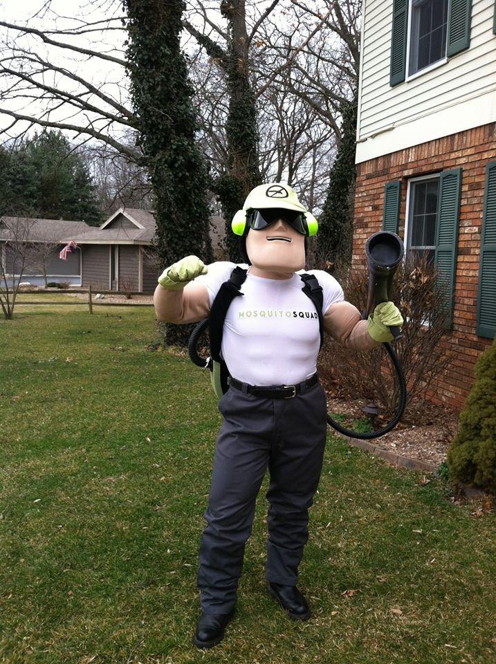 Mosquito Squad's Dread Skeeter Posing