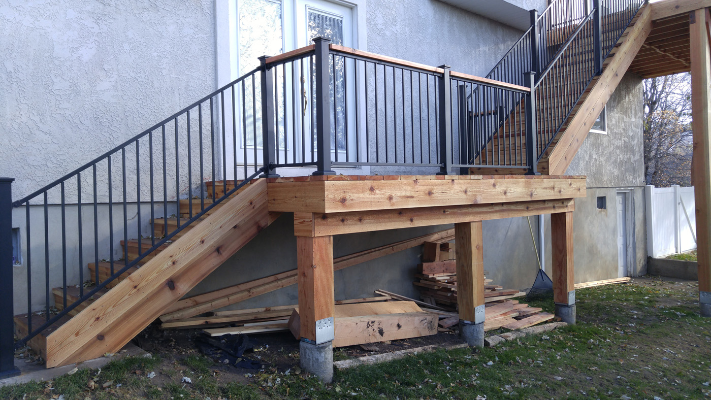 Rail Height Interesting Deck Stair Railing Design Deck Stair Railguardrail Height Alberta Best Of Image Railing