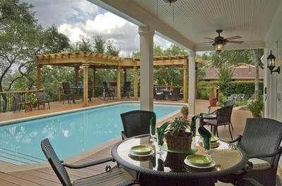 Delightful Archadeck Of Miami Answers The Question Of Whether The Pool, Or The Patio  Should Come First