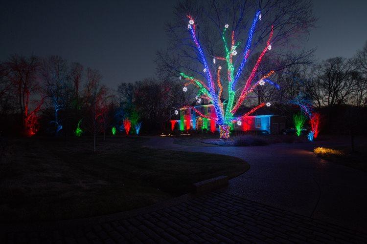 Nashville Holiday Outdoor Lighting