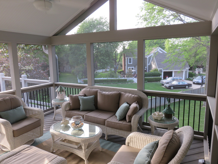 design ideas for screened porches come in 2 forms built in features and decorative or accessorized features - Screened In Porch Design Ideas