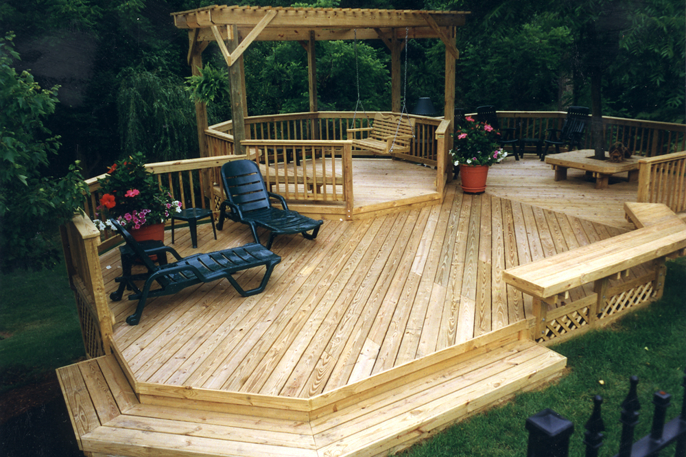 When can i paint stain or seal my new pressure treated for Pressure treated decking