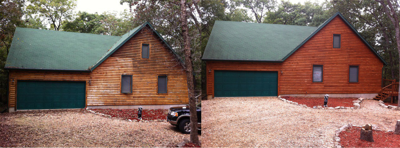 Log Cabin Renewal - Renew Crew of Northwest Arkansas