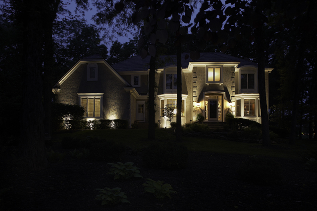 Photo gallery outdoor lighting perspectives landscape lighting aloadofball Image collections