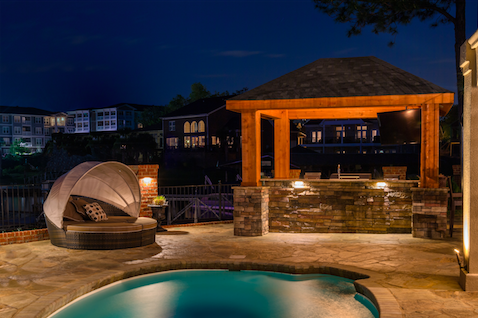 Deck And Patio Lighting Extends The Amount Of Time You Can Spend Time  Outdoors Safely With Friends And Family, Giving You More Fresh Air Each  Night.