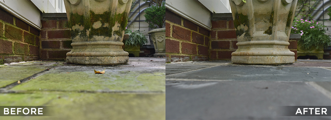 Concrete Cleaning and Protecting Before and After