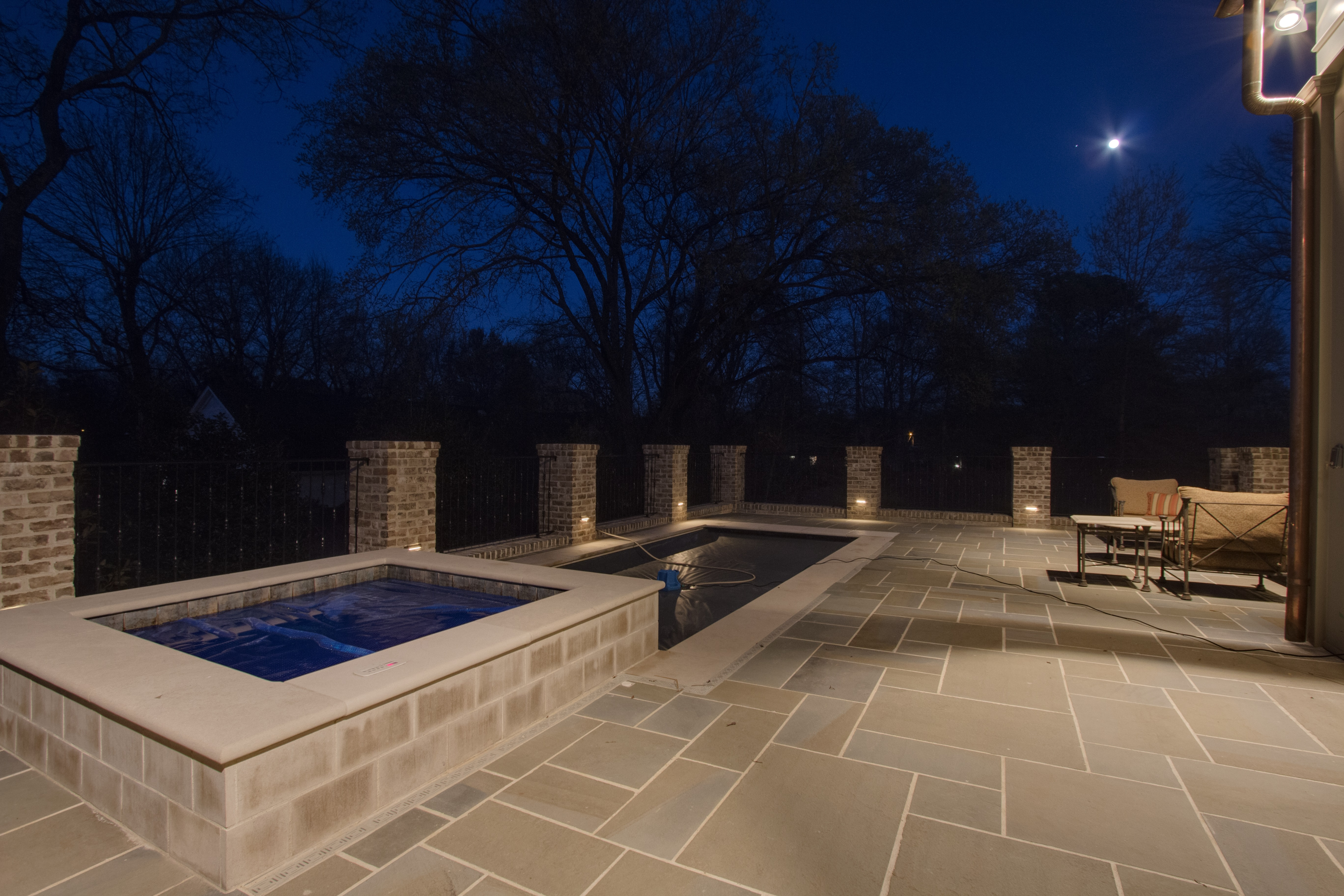 Outdoor lighting company lightscapes southern outdoor lighting - Belle Park Circle Outdoor Lighting In Franklin Tn Jpg