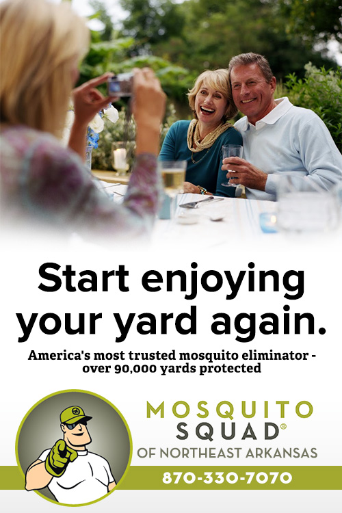 Mosquito Control in Northeast Arkansas