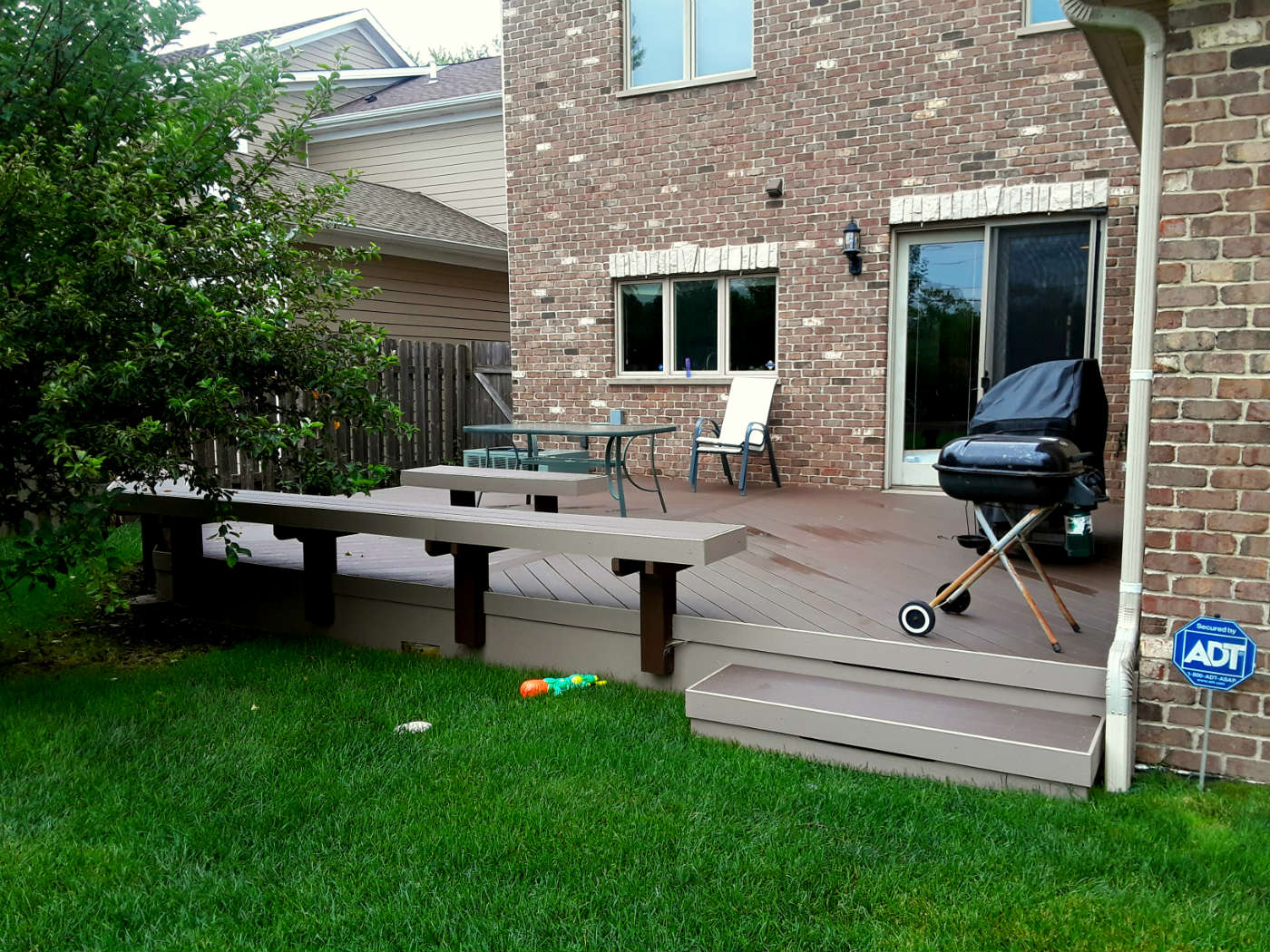 Timber Tech Low Maintenance Deck by Morton Grove, IL deck designer Thumbnail