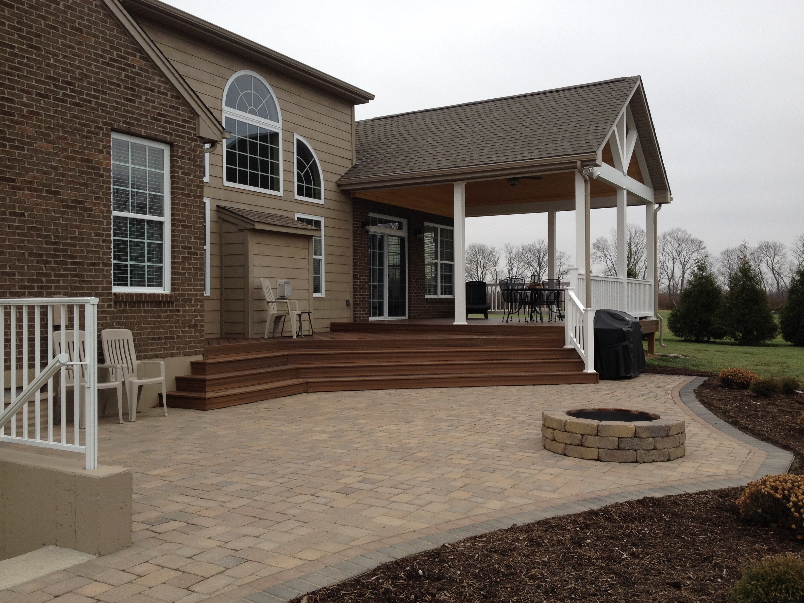 Our Awe Inspiring Combination Project In Clear Creek Township, OH Was The  Winning Design For The CotY In The Category Of Residential Exterior  Projects In ...