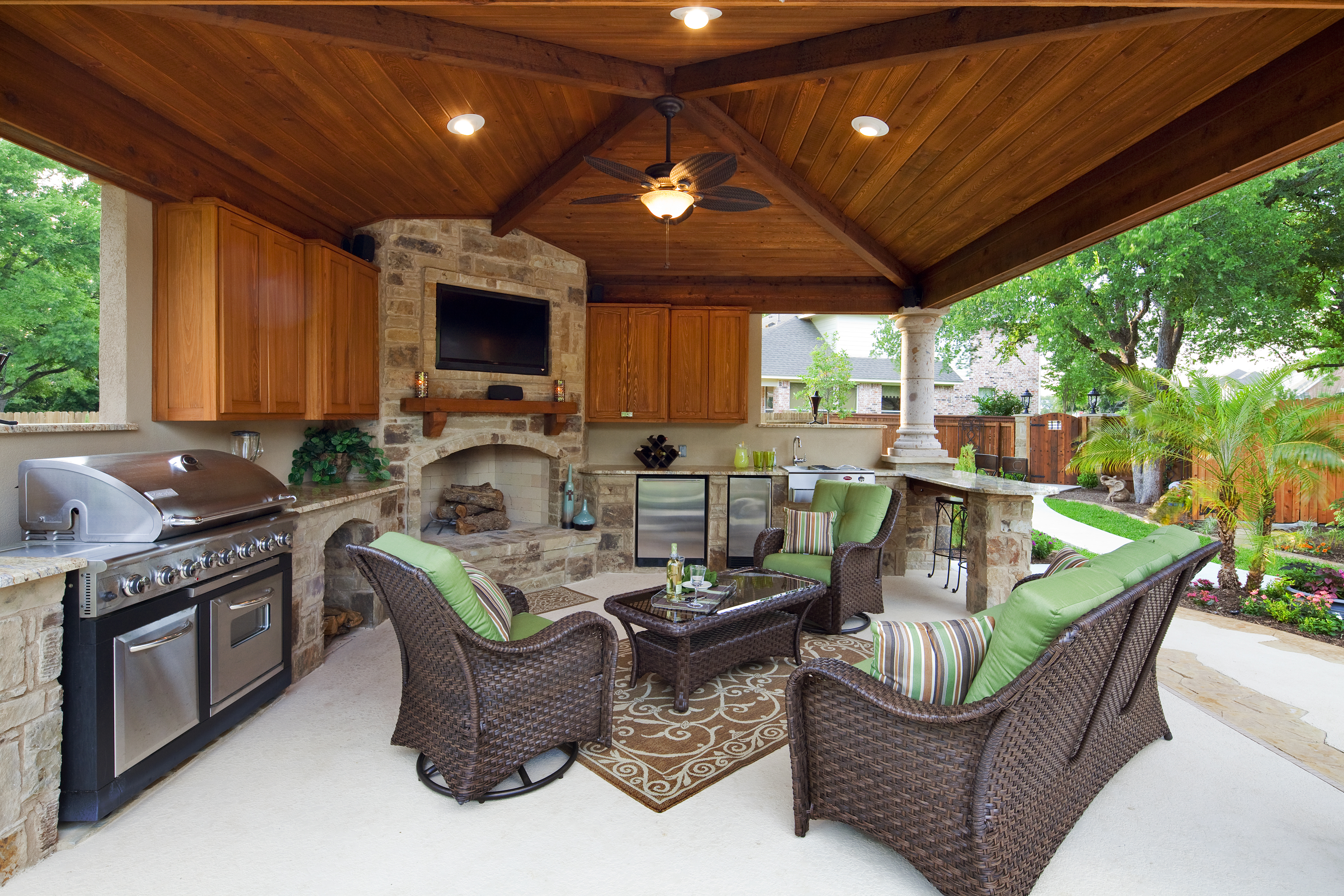 outdoor kitchens archadeck of north west dallas