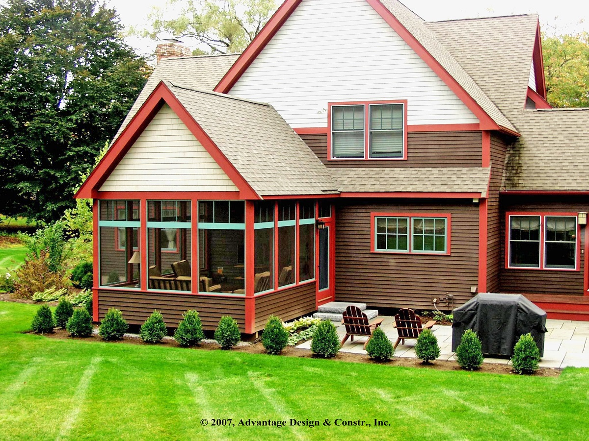 This three season porch in lincoln mass by archadeck of suburban