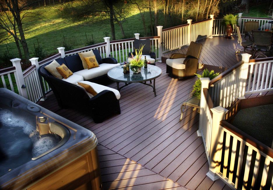 Custom Deck Design by Archadeck