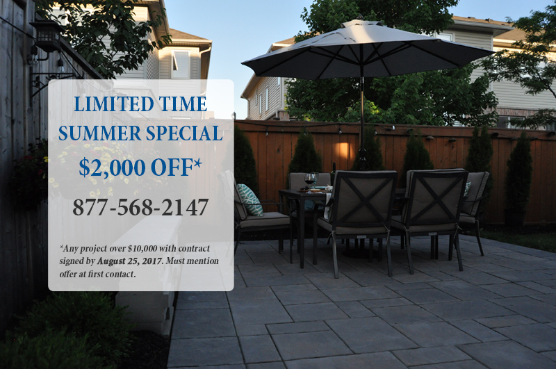 $2,000 OFF Any Project Over $10,000 When You Sign A Contract By August 25,  2017. Must Mention This Offer At First Contact.