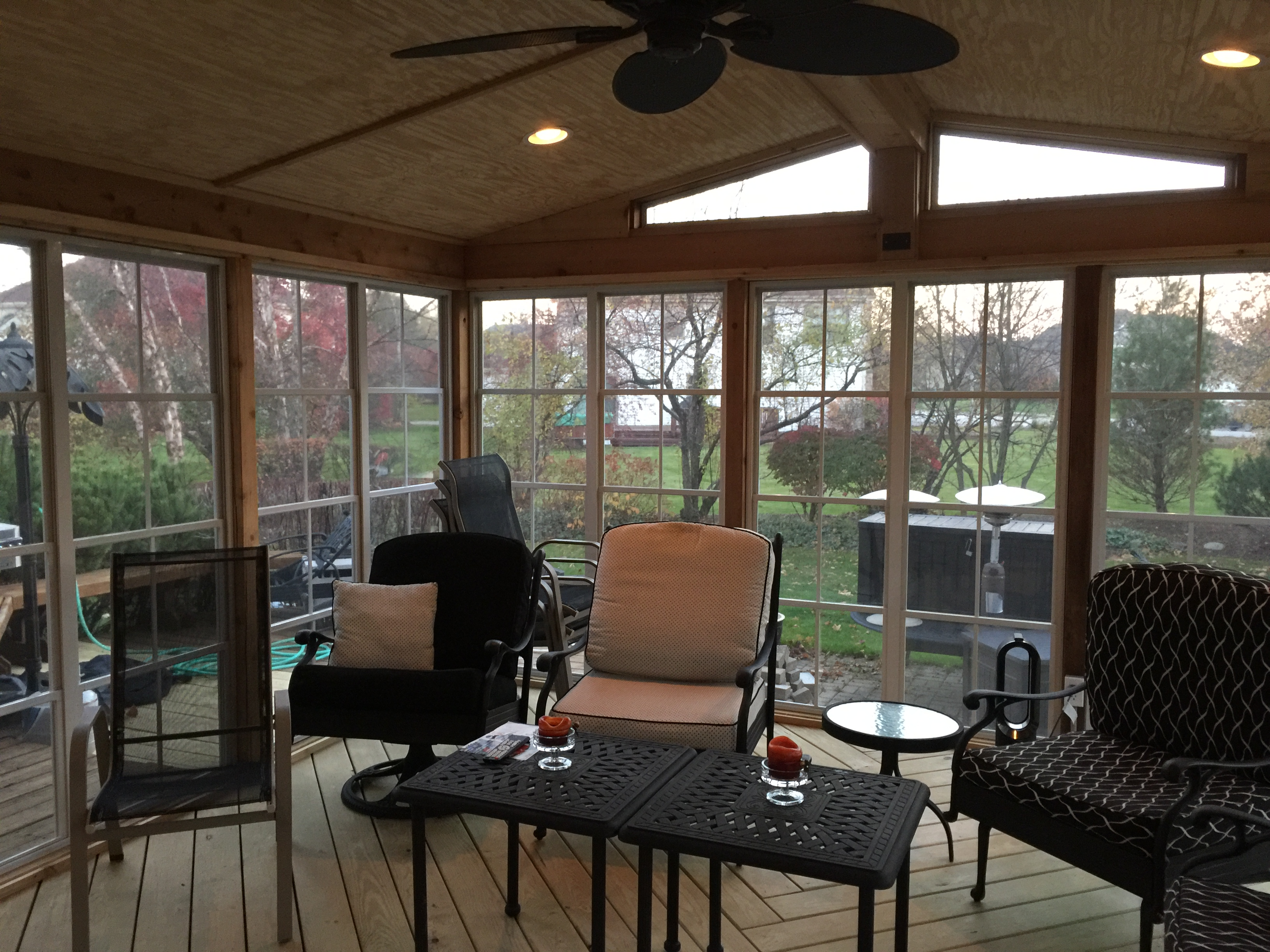 Archadeck s Custom Designed Screen porch with decks and paver patio