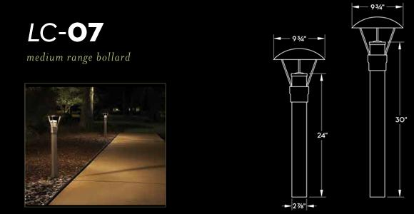 Denver commercial outdoor lighting outdoor lighting perspectives lc 07 medium range bollard light mozeypictures