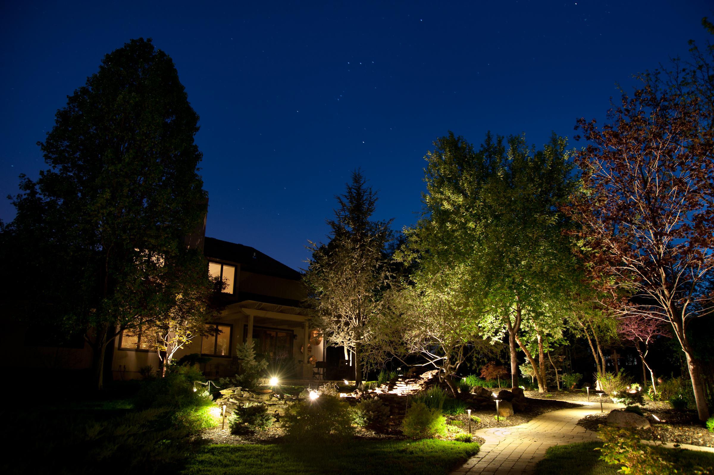 Outdoor Residential Lighting Applications architectural outdoor
