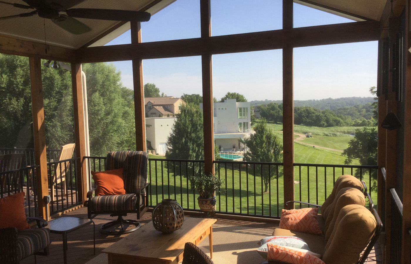 Should Your New Kansas City Area Screened Porch Have A