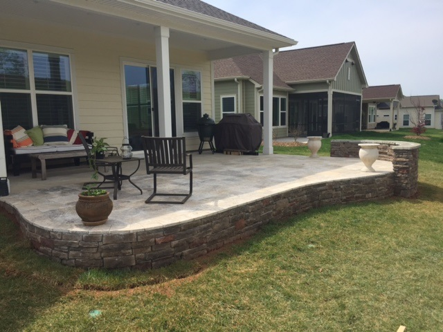 raised patio against house. we have tremendous experience and expertise in designing building charlotteu0027s best patios hardscapes here are five reasons why choosing archadeck raised patio against house g