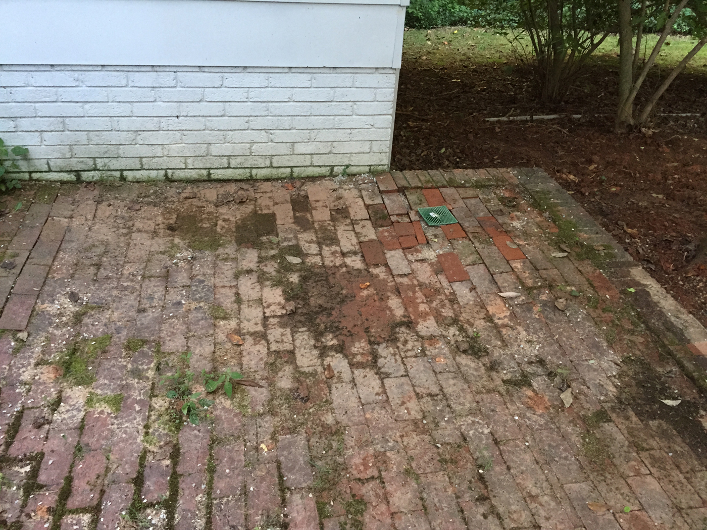 Greensboro design and build firm 3 custom outdoor living for Patio drainage