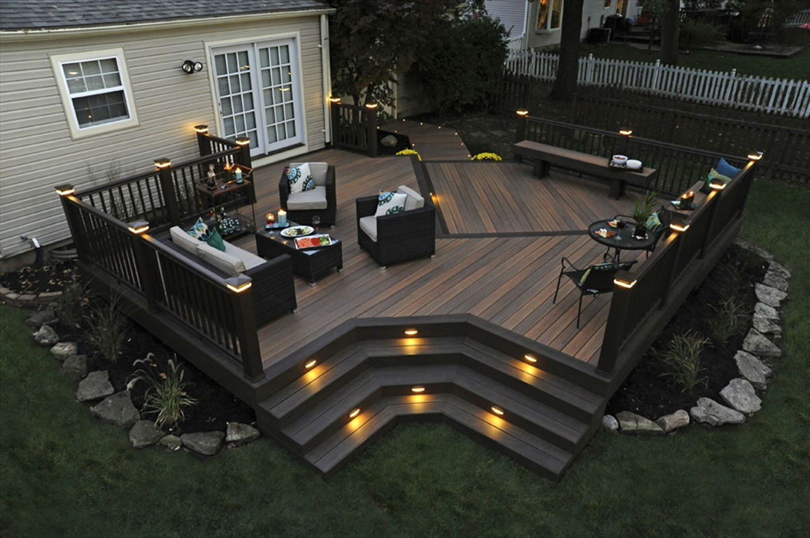 Deck amp patio furniture are often neglected when hiring a pressure - With The Plentiful Options Below There Is A Perfect Deck Lighting Combination To Meet Your Lifestyle Needs