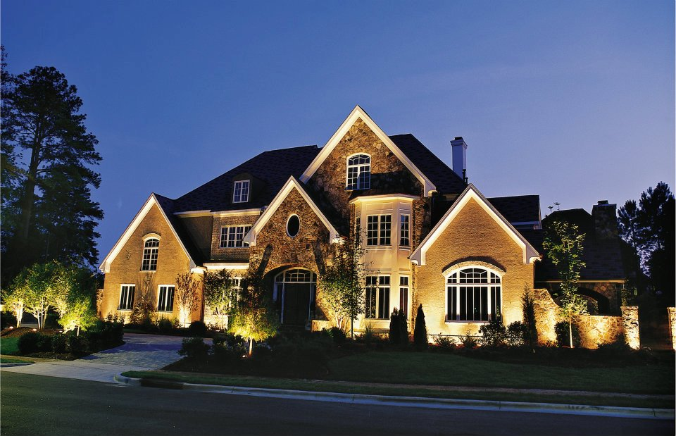 outdoor security lighting in memphis beautifies your home while ensuring safety - Landscape Lighting Design Ideas