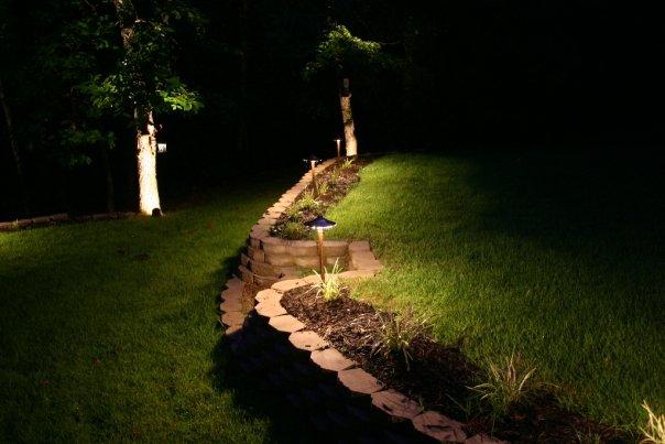 Memphis landscape lighting for Landscape design memphis